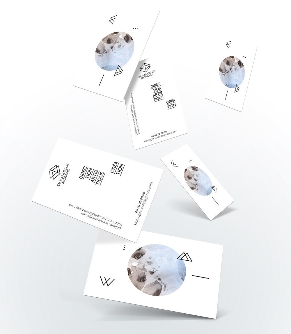 Emmanuelle Morand - Cartes de visite