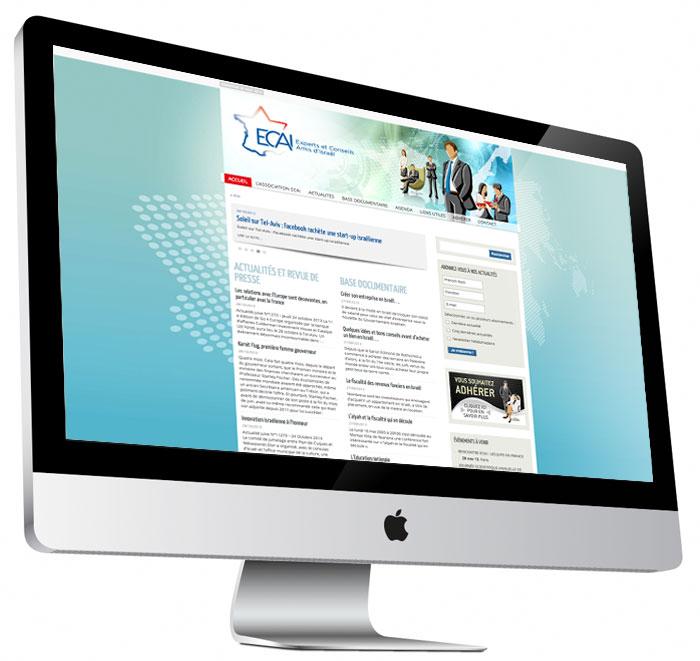 Site internet d'ECAI